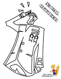 Navy Officer Picture To Print At YesColoring