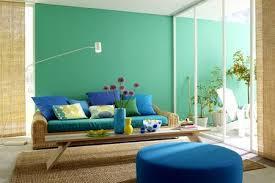 farbe blau wandfarbe möbel und accessoires living