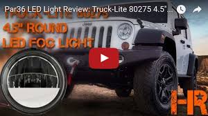 07 17 jeep wrangler jk led and hid fog light and driving light