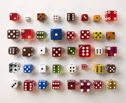 6 Sided Dice The Most Common Rolls Popular Board Games
