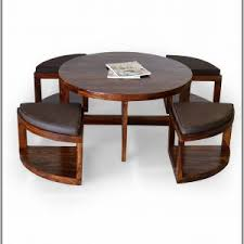 Round Coffee Table With Stools Underneath by Coffee Table With Stools Under Coffee Table Home Decorating
