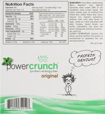 Power Crunch Bar 13 Grams Of Protein Chocolate Mint 14 Oz 12 Ct