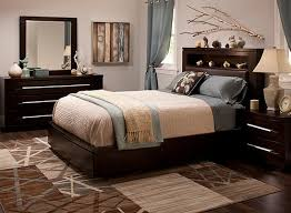 Raymour And Flanigan Bed Headboards by Wall Street 4 Pc King Platform Bedroom Set W Storage Bed Brown