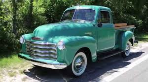 100 1951 Chevy Truck For Sale Chevrolet 3100 5 Window Pick Up YouTube