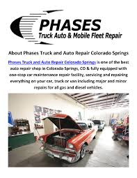 Colorado Springs Automotive By Phases Truck And Auto Repair Colora ... Direct Truck Auto Repair Heavy Duty Diesel Hss New Forklift Tyre Service Promises One Stop Shop One Stop Shop Llc Semi Sasfaction Guarantee Inc 17844 Bluff Rd Lemont Il Equipment 29 E Division St 60439 Ypcom And Fleet Middle East Cstruction News Custom Dsm Rig Collision Passenger Hero2 Cadian Wash Lube Ltd