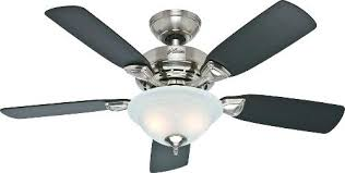 Hunter Fairhaven Ceiling Fan by Brushed Nickel Ceiling Fans Sofrench Me