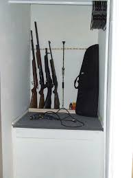 Diy Gun Rack Plans by Standing Gunrack 5 Steps