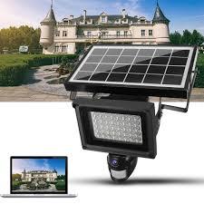 Solar LED PIR Motion Sensor Wall Light Security Night Lamp LE