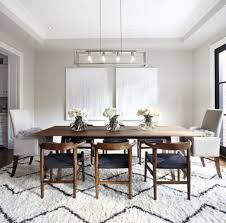 Modern Farmhouse Dining Room In Table The For