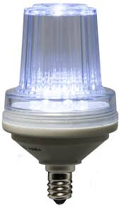 strobe commercial twinkle cool white led bulbs