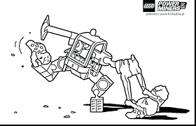 Lego Hero Factory Colouring Pages Free Marvel Superheroes Coloring Good Power Miners Print Large Size