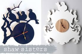 download free wooden clock plans dxf plans diy off the shelf house