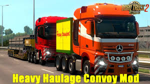 Heavy Haulage Convoy Mod For SCS 8x4s V1.0 (1.30.x) | ETS2 Mods ... Desktop Themes Euro Truck Simulator 2 Ats Mods American Truck Uncle D Ets Usa Cbscanner Chatter Mod V104 Modhubus Improved Company Trucks Mod Wheels With Chains 122 Ets2 Mods Jual Ori Laptop Gaming Ets2 Paket Di All Trucks Wheel In Complete Guide To Volvo Fh16 127 Youtube How Remove The 90 Kmh Speed Limit On Daf Crawler For 123 124 Peugeot Boxer V20 Thrghout Peterbilt 351 Yellow Peril Skin