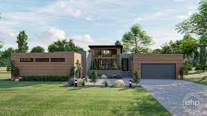 100 Modern One Story House Gramercy 1 Plan