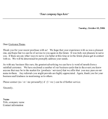 Free Business Thank You Letter Template Alternate