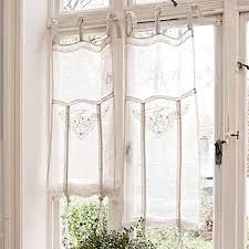 loberon romantische gardine espaon im landhausstil creme