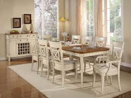 White Dining Room Furniture Contemporary Sets Apartment Bench Round Pedestal Table