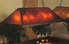 Mica Lamp Company Sconce by Mica Lamp Company 136g 01 O 8 Light Smith Grand Billiard Pool