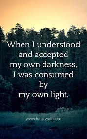 Like The Yin And Yang Darkness Light Exist Simultaneously Within Us