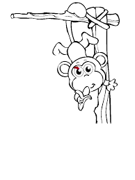 Colouring Pages For A 3 Year Old Baby Monkey Circus Coloring Page Download Print