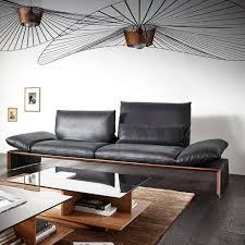 canape d angle bois canapé d angle classique en cuir en bois massif houston by