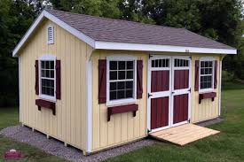 Tin Shed Highland Il by Wood Tex Products U2014 Storage Sheds Prefab Sheds Shed Builder