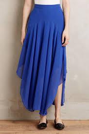 hd in paris lucia maxi skirt in blue lyst