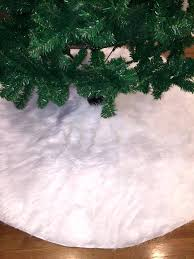 Fascinating White Christmas Tree Skirt Exquisite Tittle Pottery Barn