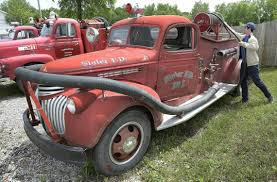 Old Fire Trucks On A Used-car Lot On U.S. 40 Stoke Memories | The ... Hubley Fire Engine No 504 Antique Toys For Sale Historic 1947 Dodge Truck Fire Rescue Pinterest Old Trucks On A Usedcar Lot Us 40 Stoke Memories The Old Sale Chicagoaafirecom Sold 1922 Model T Youtube Rental Tennessee Event Specialist I Want Truck Retro Rides Mack Stock Photos Images Alamy 1938 Chevrolet Open Cab Pumper Vintage Engines 1972 Gmc 6500 Item K5430 August 2 Gover Privately Owned And Antique Apparatus Njfipictures American Historical Society