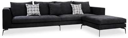casa padrino luxus samt ecksofa schwarz 320 x 180 x h 45 cm modernes wohnzimmer sofa mit verstellbarem hocker wohnzimmer möbel