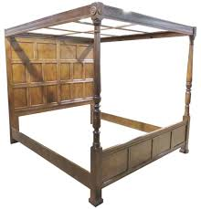 henredon heritage walnut canopy bed for sale at 1stdibs