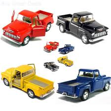 100 Stepside Trucks Cars Pickup Truck 132 Scale Classic Car Model Toys Set Of
