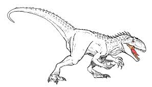 Coloring Pages Jurassic Park 11 Images Of LEGO Indominus Rex World