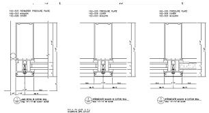 kawneer 1600 curtain wall cad details savae org