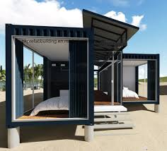 100 House Made From Storage Containers 40FT Modified Shipping Container China Container