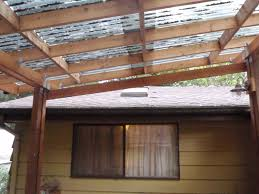 How To Build A DIY Decking Cover | Permaculture Magazine Roof Pergola Covers Patio Designs How To Build A 100 Awning Over Deck Outdoor Magnificent Overhead Ideas Wood Cover Awesome Marvelous Metal Carports For Sale Attached Amazing Add On Building Porch Best 25 Shade Ideas On Pinterest Sun Fabric Fancy For Your Exterior Design Comfy Plans And To A Diy Buildaroofoveradeck Decks Roof Decking Cosy Pendant In Decorating Blossom
