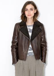 Shearling-lined Leather Jacket | Leather Jackets, Leather And ... Womens Brown Shearling Sheepskin Duffle Coat Daria Uk Lj Coach Jacket In Green For Men Lyst Taylor Stitch Blanket Lined Barn Jacket Huckberry Consume Urban Outfitters Uo Faux Barn And Wool Shop Jackets Peter Millar Cortina Leather Fur Fashion 2017 Weatherproof Fauxshearling For Women Save 50 237 Best Sheepskins I Love Images On Pinterest Bogoli Lamb Amazoncom Mountain Khakis Mens Ranch Sports