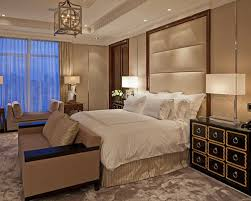 Transitional Carpeted Bedroom Idea In Toronto With Beige Walls