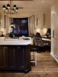 Kitchen Desk Nook In The Corner Might Be Nice To Incorporate If We Have Room Adore Animal Print Chair