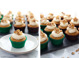 Gluten free Carrot Cupcakes with Coconut