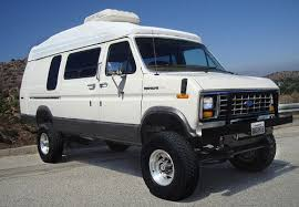 Find Used Quadravan Mi Extended Conversion Van High Roof Expedition RV Lifted In Canoga Park California United States