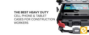 Heavy duty cell phone cases