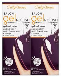 amazon com sally hansen salon gel polish 250 troublemaker set