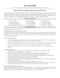 Management Resume Template Retail Sample Store Manager Sales Best Free Examples Cv Example Assistant