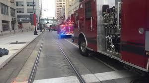 100 Kansas Fire Trucks Damages Downtown City Post Office