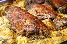 The BEST Baked Turkey Wings