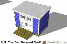 8x12 Storage Shed Blueprints by 8x12 Lean To Shed Plans Storage Shed Plans Icreatables Com