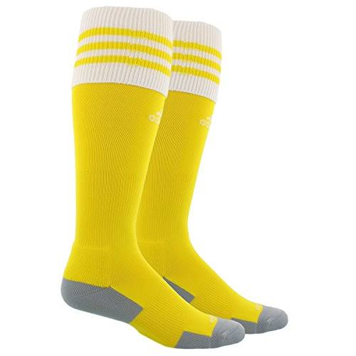 Adidas Copa Zone Cushion II Soccer Sock Yellow/White XS