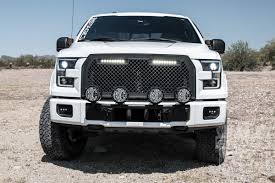 2015-2017 F150 Putco Boss Upper Grille With 10