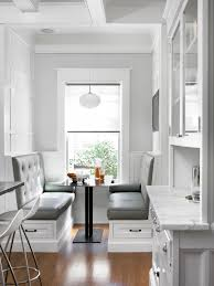 Kitchen: Splendid White Nuance Kitchen Banquette Designs With ... Fniture Built In Banquette Seating Corner 20 Stunning Kitchen Booths And Banquettes Booths Banquettes For Small Kitchen Ideas Design Mesmerizing 30 Bench Island With Banquette Ipirations Innovative For Small Paces Back Awesome Diy Nook How To Build A Booth Plans Sale With Storage Smart Beautiful Traditional Home Best Design Seating Decor